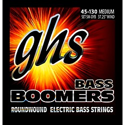GHS 5-5M-DYB 5-string Bass Strings with Low-B (5M-DYB)