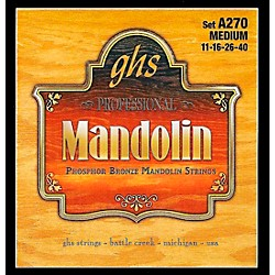 GHS A270 Phosphor Bronze Mandolin Strings (A270)