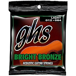 GHS BB30L 80/20 Bronze Light Acoustic Guitar Strings (BB30L)