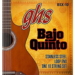 GHS Bajo Sexto 10-String Guitar Strings Set (BSX-10)