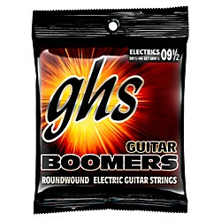 GHS Boomers GB9 1/2 Electric Guitar Strings (GB9 1/2)
