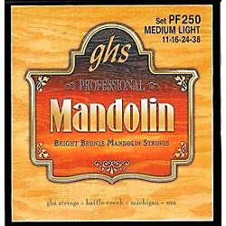 GHS Bright Bronze Mandolin Strings Medium Light (PF250)