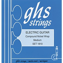 GHS Compound Nickel Wrap Medium - Wound Third String (1810)