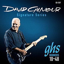 GHS David Gilmour Signature Blue Set Electric Guitar Strings (GB-DGF)