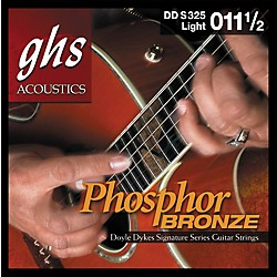 GHS Doyle Dykes Signature Acoustic Guitar Strings (DDS325)