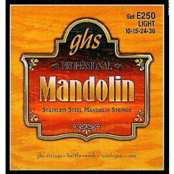 GHS E250 Stainless Mandolin Strings (E250)