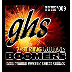 GHS GB7L Boomers 7-String Electric Guitar Strings (GB7L)