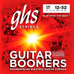 GHS GBH Boomers Heavy Electric Guitar Strings (GBH)