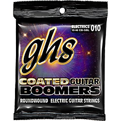 GHS GBL Coated Boomers Light Electric Guitar Strings (CB-GBL)
