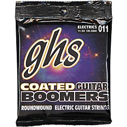 GHS GBM Coated Boomers Medium Electric Guitar Strings (CB-GBM)