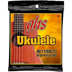 GHS H-T10 Standard Ukulele Clear Nylon Strings (10)