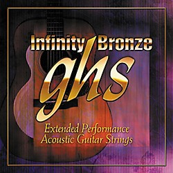 GHS Infinity Bronze Acoustic Light Guitar Strings (IB30L)