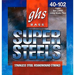 GHS L5000 Super Steels Electric Bass Strings (L5000)