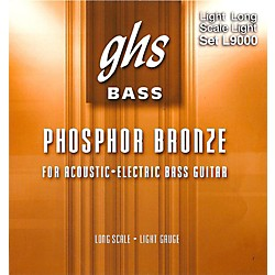 GHS L9000 Acoustic Bass Strings (L9000)