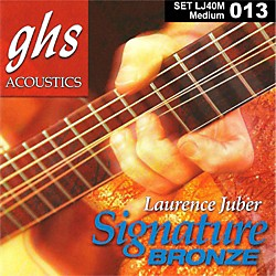 GHS Laurence Juber Signature Bronze Medium Strings (LJ40M)