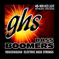 GHS ML3045 Boomers Medium Light Electric Bass Strings (ML3045)