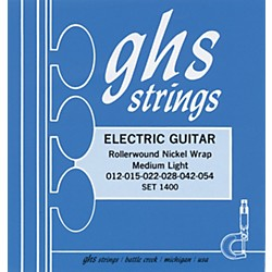 GHS Nickel Rockers Medium Light - Wound Third String (1400)