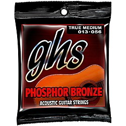 GHS Phosphor Bronze Acoustic Guitar Strings True Medium (TM335)