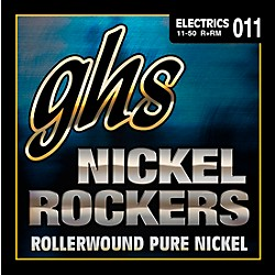 GHS R+RM Nickel Rockers Roundwound Medium Electric Guitar Strings (R+RM)