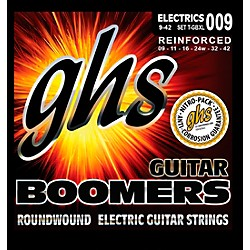 GHS T-GBXL Tremolo Boomer Extra Light Electric Guitar Strings (T-GBXL)