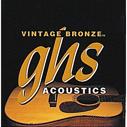 GHS Vintage Bronze 85/15 Acoustic Strings Extra Light (VN-XL)