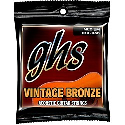 GHS Vintage Bronze 85/15 Acoustic Strings Medium (VN-M)