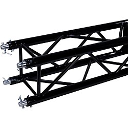 GLOBAL TRUSS 12 x 12 9.84 Foot (3.0 Meter) Black Powder Coat Square Truss (SQ4114BLK)