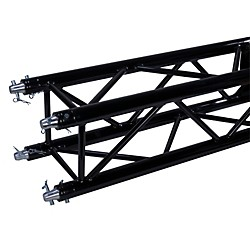 "GLOBAL TRUSS 6.56' 2"" Square Truss (SQ4112BLK)"