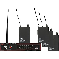 Galaxy Audio AS-900-4 Band Pack Wireless System (USED004000 AS-900-4K2)