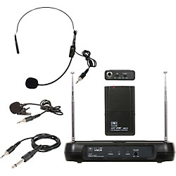 Galaxy Audio Triple Play Diversity VHF Wireless Belt Pack System (USED004000 VSCR/318V54)