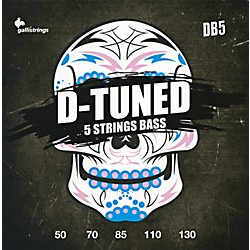 Galli Strings DB5 D-TUNED 5-String Bass Strings 50-130 (DB5)