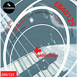 Galli Strings EB40125 PROCOATED 5-String Regular Bass Strings 40-125 (EB40125)
