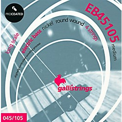 Galli Strings EB45105 PROCOATED Medium Bass Strings 45-105 (EB45105)