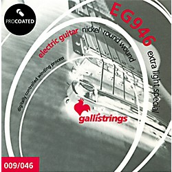 Galli Strings EG0946 PROCOATED Extra Light Special Electric Guitar Strings 9-46 (EG0946)