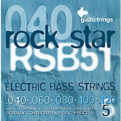 Galli Strings RSB51 ROCKSTAR 5-String Regular Bass Strings 40-120 (RSB51)