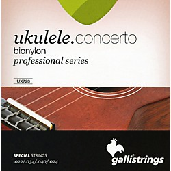 Galli Strings UX720 BIONYLON Concerto UKULELE Strings (UX720)