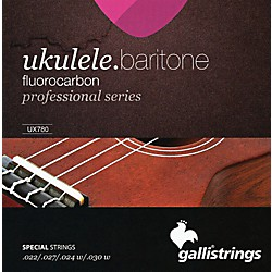 Galli Strings UX780 FLUOROCARBON Baritone UKULELE Strings (UX780)