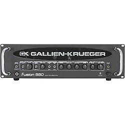 Gallien-Krueger Fusion 550 Hybrid Valve Bass Amplifier (USED004000 302-0420-A)