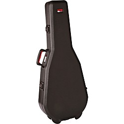 Gator ATA Molded Acoustic Dreadnought Guitar Case with TSA Latches (GPE-DREAD-TSA-S)