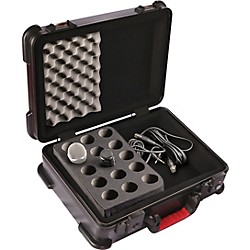 Gator ATA Molded Microphone Case (GM-15-TSA)