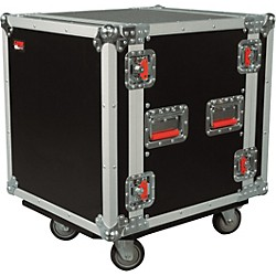 Gator G-Tour 12U ATA Cast Rack Road Case with Casters (G-TOUR 12U CAST)