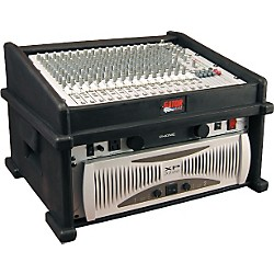 Gator GDJ-8X4 Slant Top DJ Mix Station Rack Case (GDJ-8X4)
