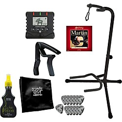 Gear One Acoustic Guitar Gigging Pro Accessory Pack (KIT772984)