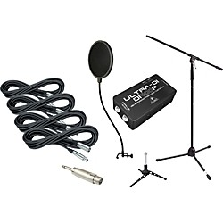 Gear One Gigging Pro Recording Accessories Pack (MG GP Rec Kit)