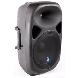 "Gem Sound PXB150USB 15"" Powered Speaker with USB/SD Media Player/Wheels (USED005090 PXB150USB)"