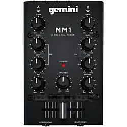 Gemini MM1 2 Channel Audio Mixer (MM1)