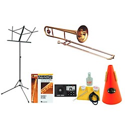 Getzen 351 Beginner Student Trombone Bundle (351-123 Kit)