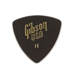 Gibson 1/2 Gross Wedge Style Triangle Pick (72 Pack) (APRGG73H)