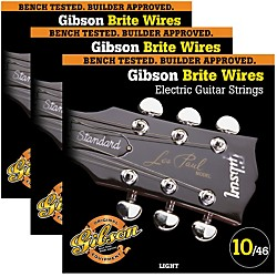 Gibson Brite Wires Light Guitar Strings (KIT772517)