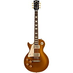 Gibson Custom 1957 Les Paul Goldtop VOS Left-Handed Electric Guitar (LPR74LHVOAGNH1)